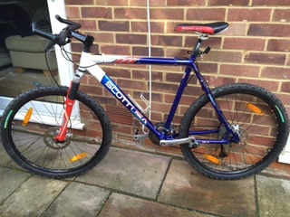 f5b57c48371 1999 Scott Team USA Mountain bike For Sale