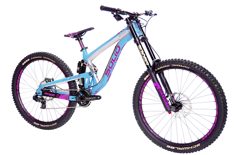 Solid Flare Evo The Girls Dh Bike From The Black Forest Pinkbike