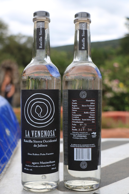 Raicilla - aka Mexican moonshine an agave-derived spirit that predates Hispanic Mexico popular in Jalisco. Winners each received a bottle of the tequila-like liquor.