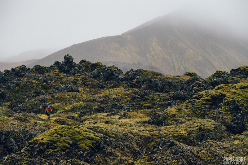 KC Deane in Landmannalaugar, Iceland