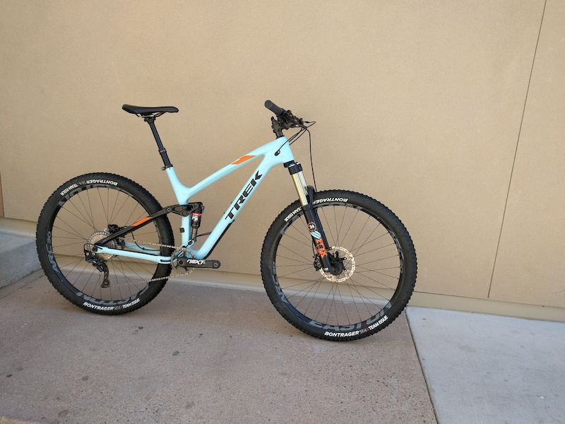 2016 Trek Fuel Ex 9 8 29er Size L 19 5 Carbon Upgraded