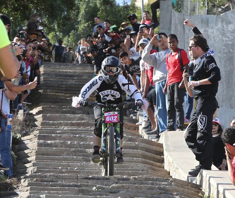 http marciocarvalho.smugmug.com photo from Urban Downhill- so many spectators