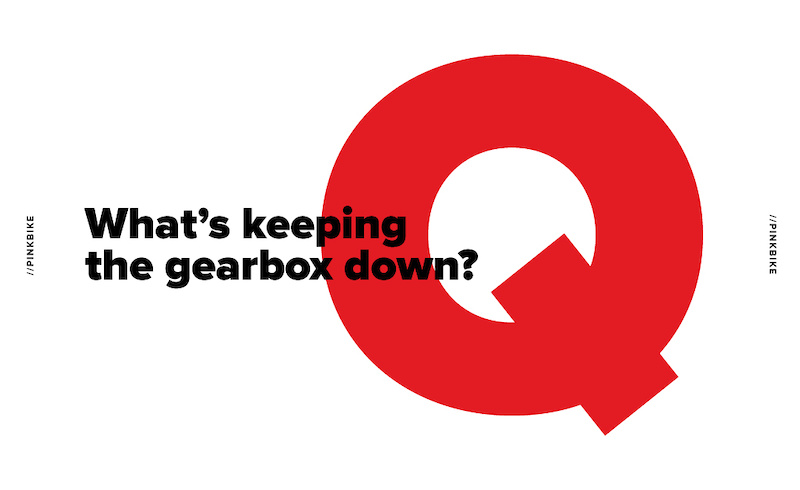 1 Question - What's Keeping the Gearbox Down? - Pinkbike