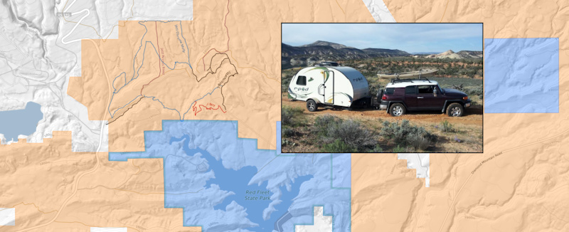 camping on blm land