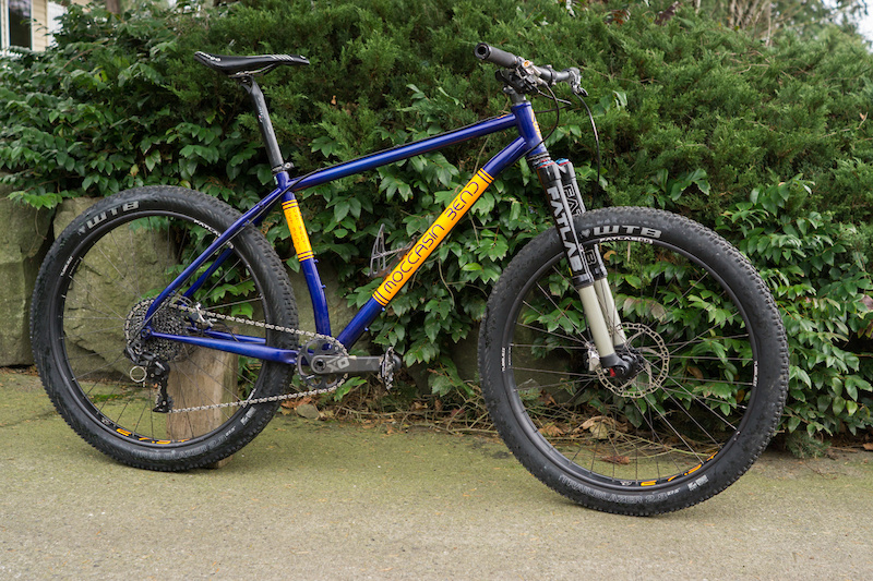 2016 Moccasin Bend 27.5 Mid-Fat Steel Hardtail