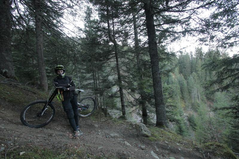 Dusty December in La Clusaz