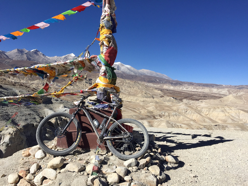 Stage 7 the top before Lo Manthang