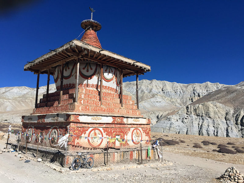 Stage 7 Stupa in Middle of Nowhere
