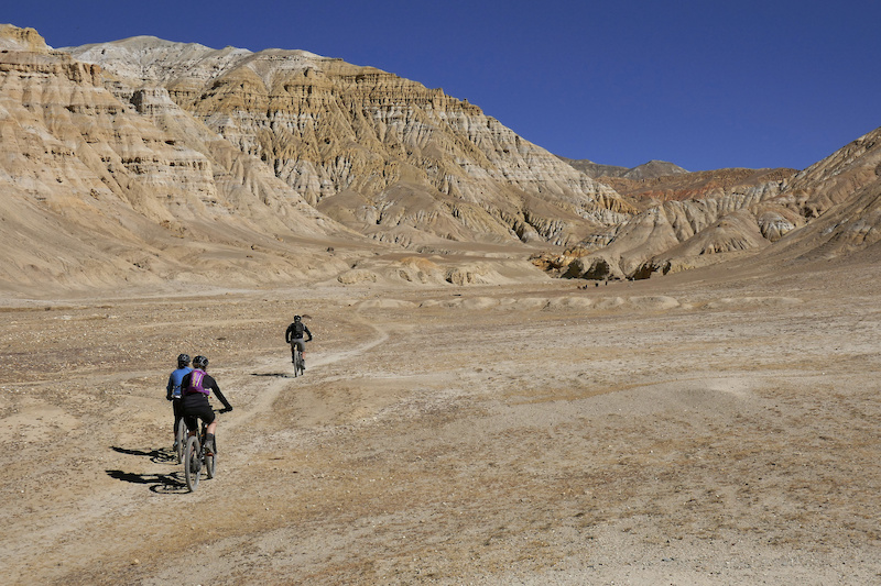 Riding in Upper Mustang