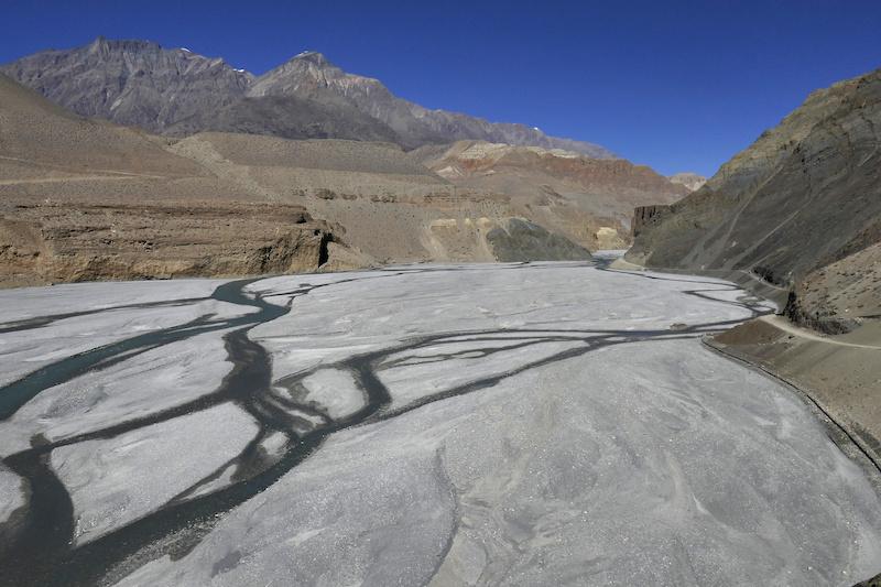 The Kali Gandhi river