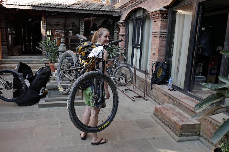 Bike Carry test