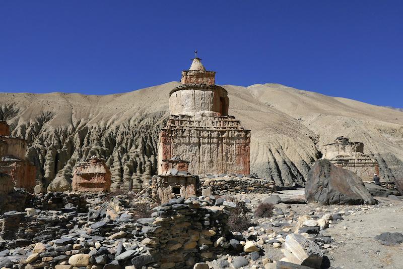 Stupa on Stage 9