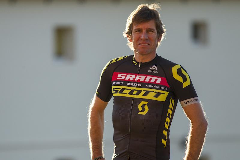 Scott-Sram MTB Team Launch - Thomas Frischknecht