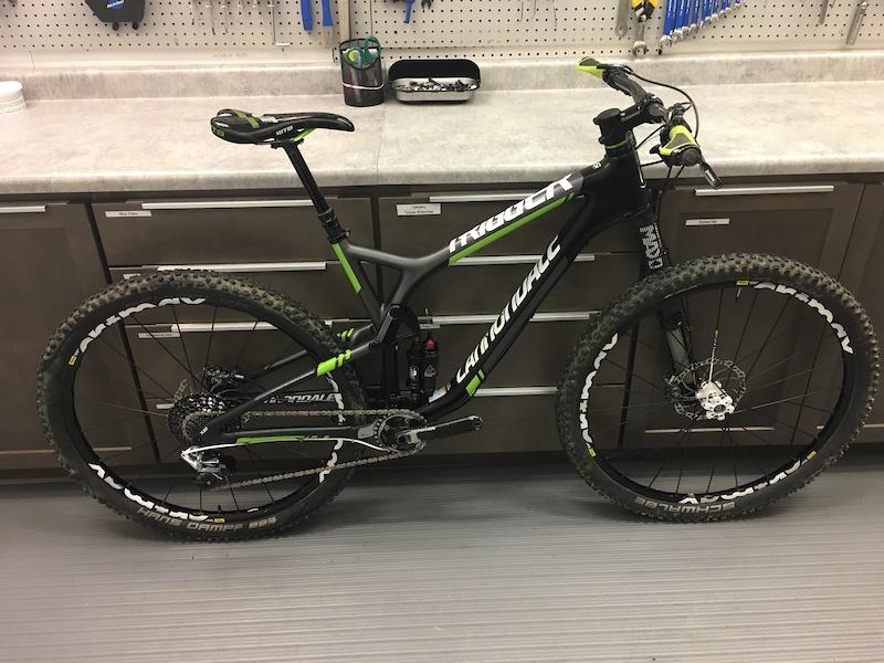Cannondale Bikes For Sale >> 2015 Cannondale Trigger 29er Team Hi-Mod Carbon 1 Large ...