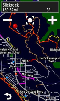 Trailforks Basemap for Garmin