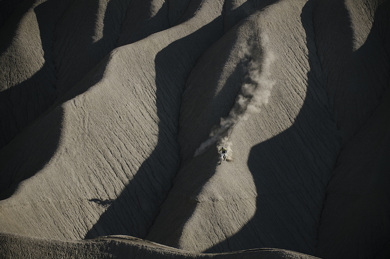 Riding the wild desert ridges outside of Caineville UT. From Wide Open Episode 3