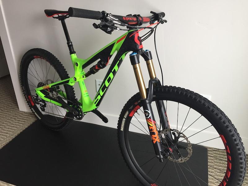 c2d1a4c66c9 2016 SCOTT GENIUS LT 700 TUNED Carbon Mountain Bike For Sale