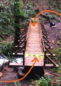 Feb 18th- we need help building the ramps onto the two new bridges. nw-trail.org