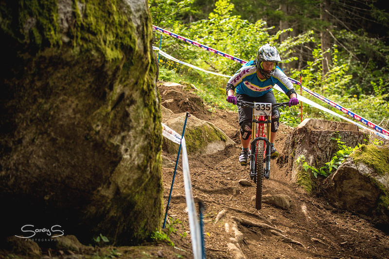 DH WM Masters at Val di Sole pic by SandyS