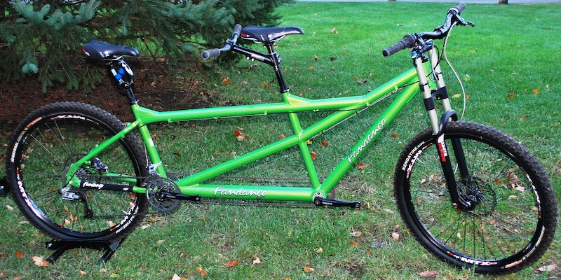 Fandango Tandem Mtn Bike Top Shelf Build For Sale