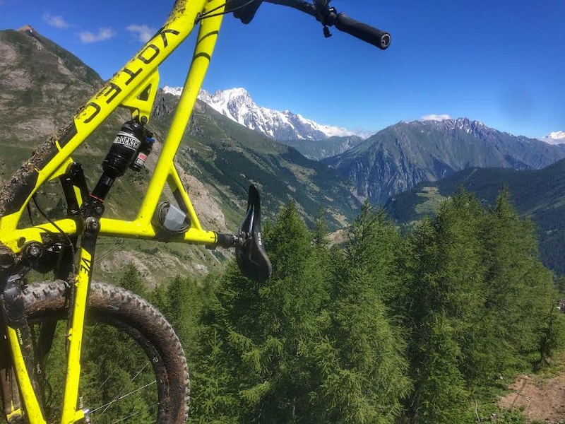 Days of lapping after the EWS in La Thuile