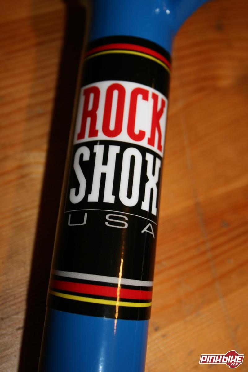 2007 Retro RockShox SID fork. Retro Decals.