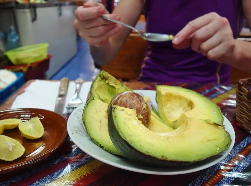 mmmm avocadoes