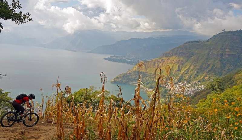 The views of Atitlan just get better