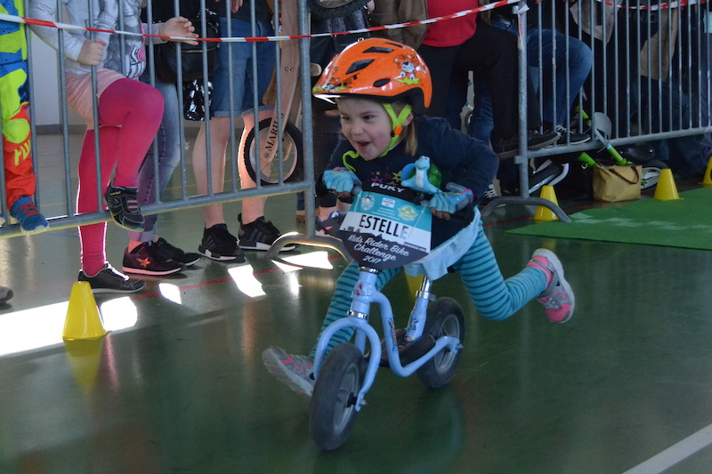 Kids Rider Bike Chalenge Saison 2 Estelle 4 years old and already a sacred determination Picture by Helen Frasson
