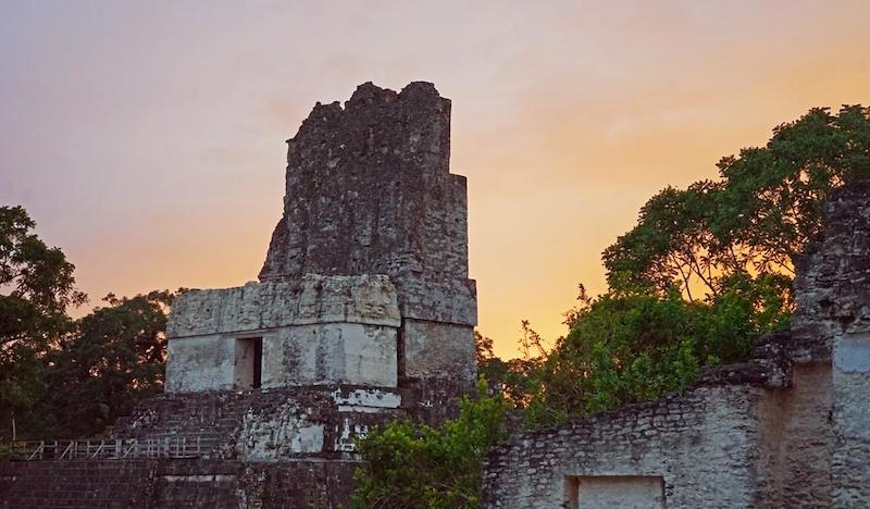 Main Plaza Tikal