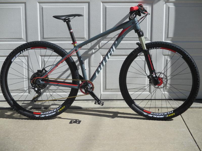 Niner Bikes & Frames. Filters 53 Results. Featured Highest Rated New Arrivals Sort More. sale $1, $3, 50% off. 1 color available. 5 5 3. Niner RLT 9 Frameset - $1, Niner AIR 9 RDO X01 Eagle Complete Mountain Bike - sale $3, $5, 36% off.