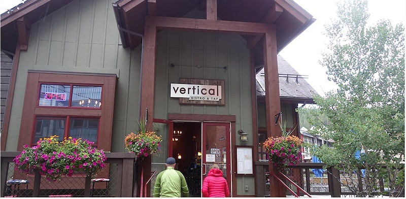 Lunch at Vertical Bistro
