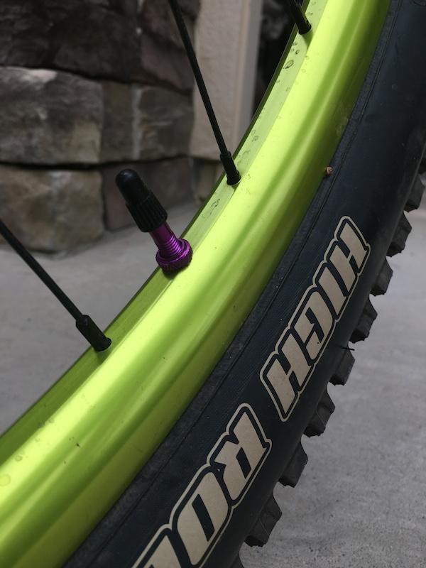 Pimp my ride. I9 purple valve stems. BOOM
