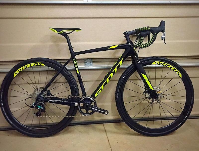 2016 Scott Addict Cx 10 Cyclocross Gravel Bike Cx1 Carbon