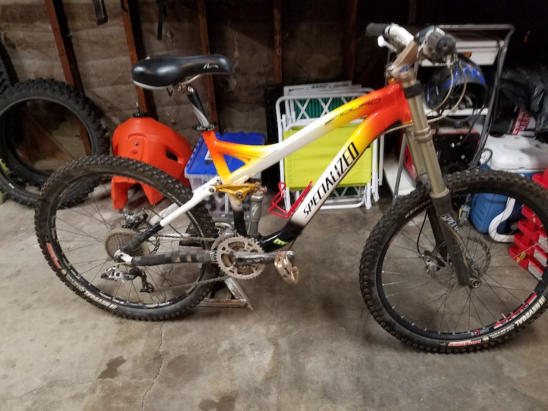 2008 specialized FSR enduro comp Sl Special Editition For Sale