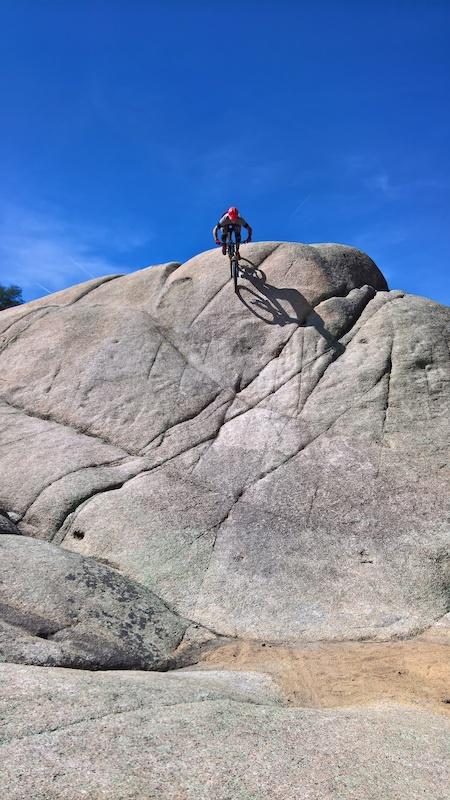 Granite Dells Mountain Biking Trail Prescott Arizona