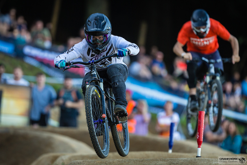 Crankworx dual speed and style les gets