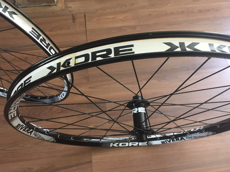 "32 HOLE DUAL PIN JOINT KORE RIVERA DOWNHILL MTB JUMP BIKE DISC RIM 26"" 559-25"