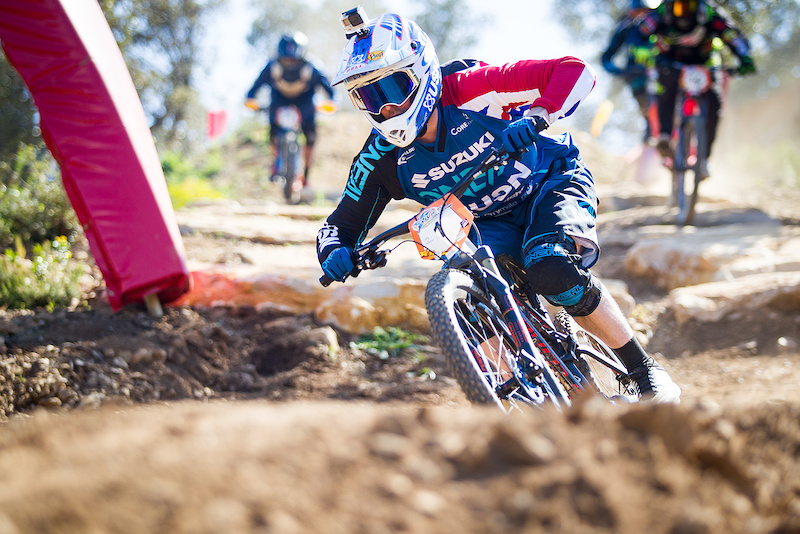 Thumbnail for 4X Pro Tour: Round 1, France - Race Report - Pinkbike