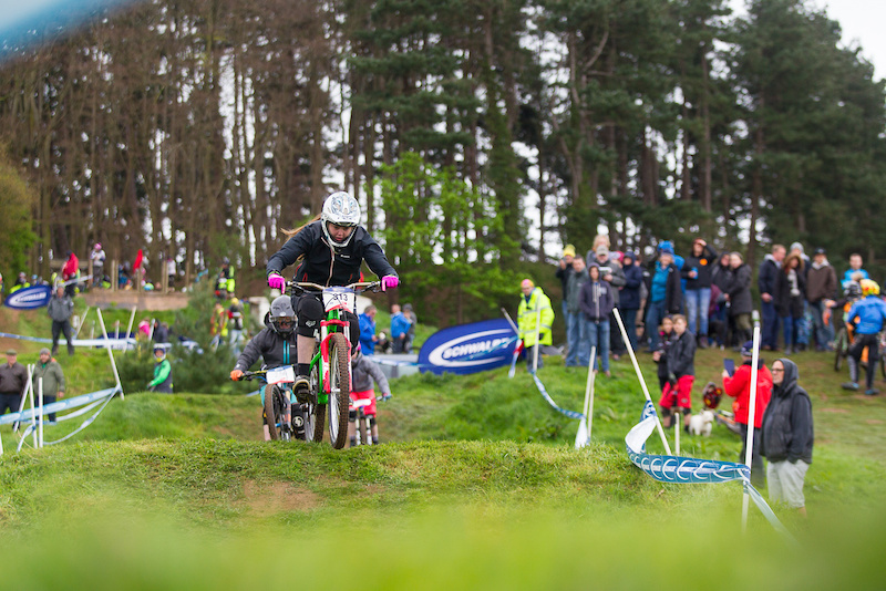 round 2 of The Schwalbe British 4X Series at Hales Bowl Harthill Cheshire United Kingdom on April 16 2017. Photo Charles A Robertson