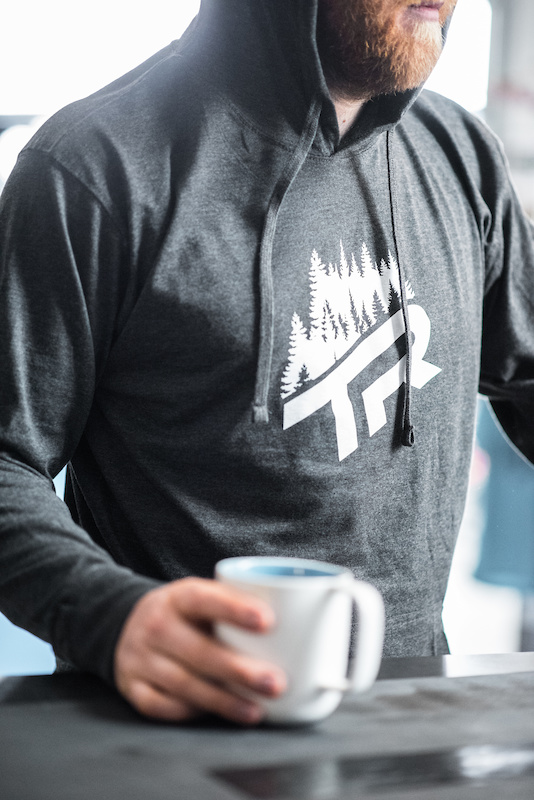 TR Trees lightweight Hoody Spring 2017 New Gear from Transition Bikes. Available now at your local dealer or transitionbikes.com