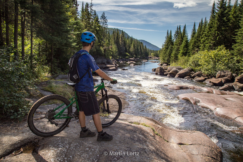 The Mountain Bike Tourist - Quebec Road Trip Part Four - Vall e Bras-du-Nord