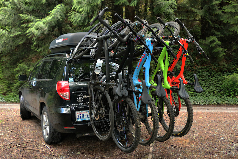 Recon Gen 2 R5 Shuttle Rack Review Pinkbike