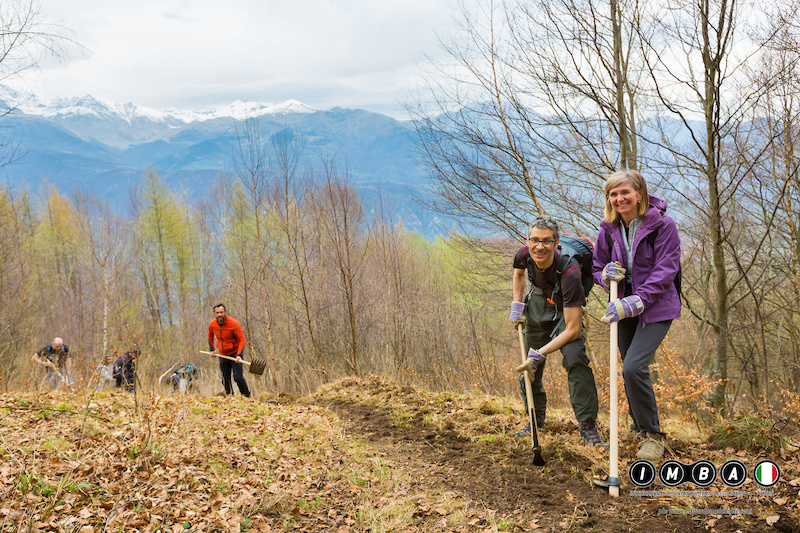 More than 1200 mountain bike volunteers joined nearly 100 groups for the first ever pan-European Take Care of You Trails weekend. ph Edoardo Melchiori Photography www.edoardomelchiori.com