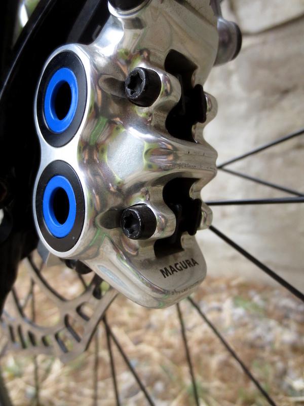 4 Organic Bicycle MTB Mountain Bike Metal Disc Brake Resin Pad for Magura MTS MT