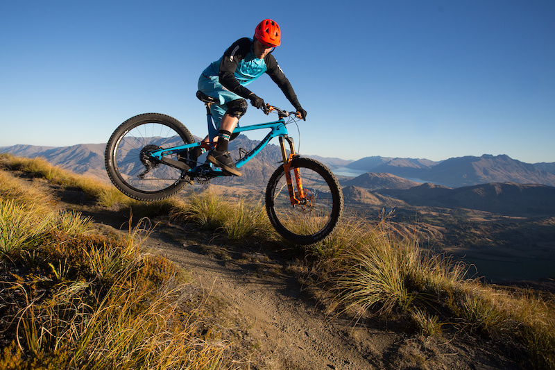 XC Trail Coronet Peak. Queenstown .
