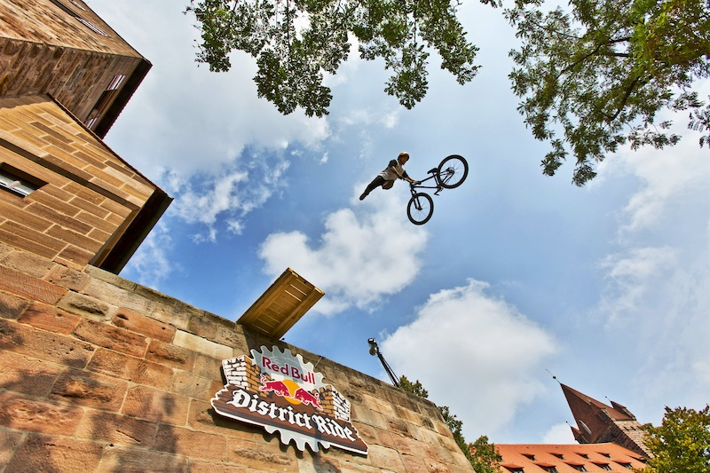 Red Bull District Ride celebrates comeback with Martin Soderstrom