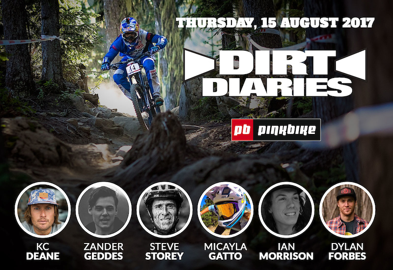 Dirt Diaries Gets Down And… For Crankworx Whistler