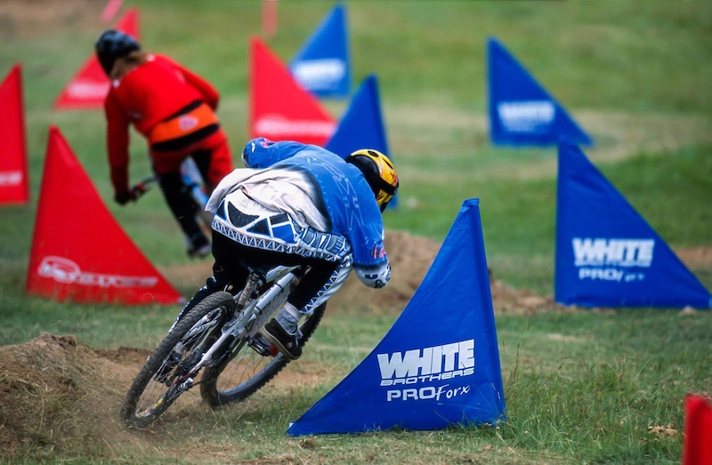 Dual Slalom. Picture by Geoff Waugh.