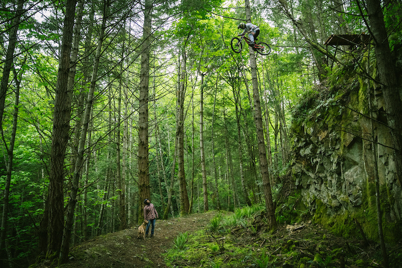 Jordie Lunn at VanIsle in Victoria, British Columbia, Canada - photo by KaliProtectives - Pinkbike